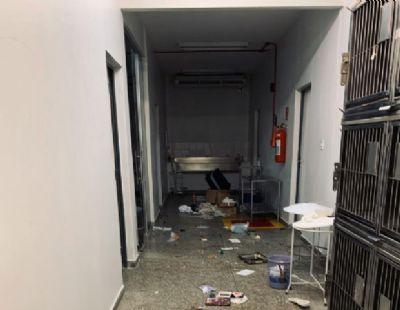 Vândalos depredam Hospital Veterinário da UFMT e Polícia Federal é acionada