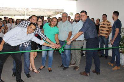 O IFMT - Campus Cuiabá Bela Vista -inaugura novo bloco para Programa de Pós-graduação e extensão