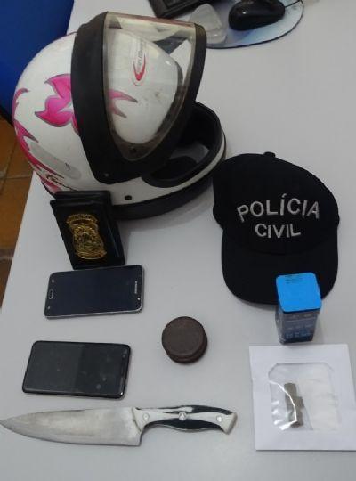 Polícia Civil de Jauru apreende adolescentes identificados em roubos