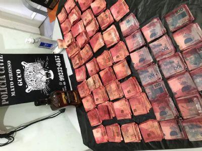 Polícia Civil apreende mais de R$ 102 mil em cédulas manchadas de furto a bancos