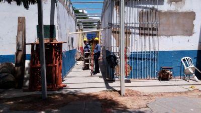 Seduc retoma obras de reforma da escola Emanoel Pinheiro em Rondonópolis