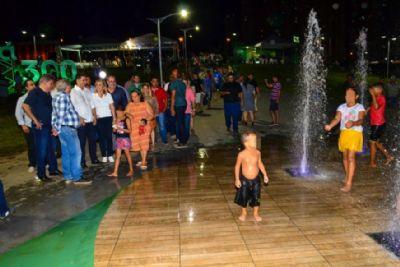Prefeitura entrega 'Parque da família' para população