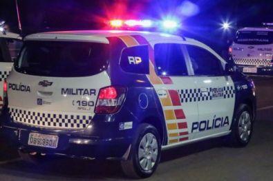 Homem é preso por invadir e furtar TV de banco em Cuiabá