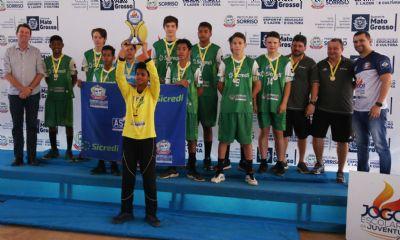 Definidos primeiros campeões estaduais dos Jogos Escolares em Mato Grosso