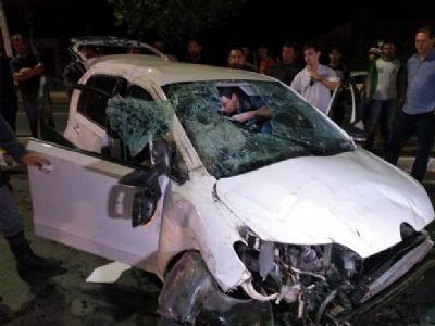 Acusado de racha na Miguel Sutil passará por audiência de custódia; carro pegou fogo em posto