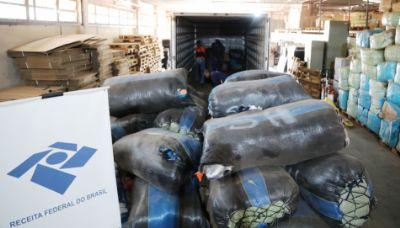 Judiciário doa produtos apreendidos pela Receita Federal