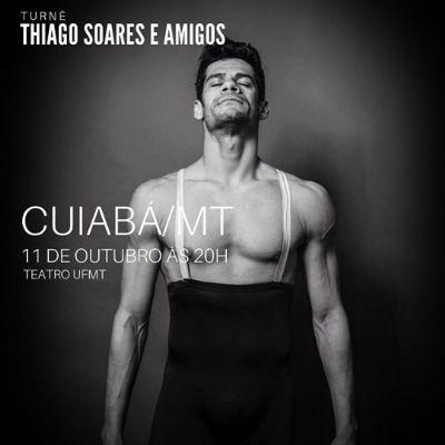 Único brasileiro medalhista de Bolshoi traz espetáculo para Cuiabá e seleciona bailarinos locais