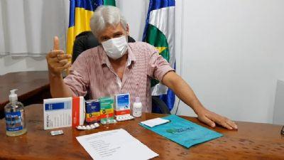 Prefeito de Nova Maringá distribuirá medicamento a toda população para prevenção da Covid-19