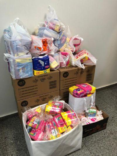 OAB-MT faz campanha de arrecadação de absorventes para recuperandas de Cuiabá