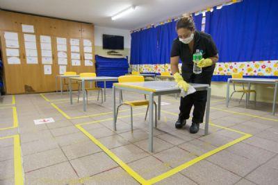 Aulas presenciais do ensino infantil são suspensas por causa da Covid-19 em Tangará da Serra (MT)