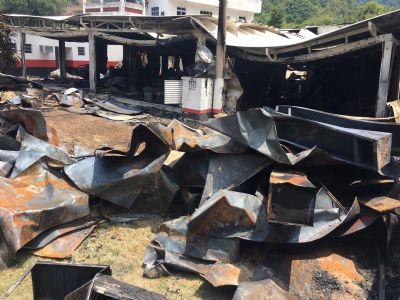 Alojamento do Flamengo que pegou fogo não tem licença da Prefeitura do Rio