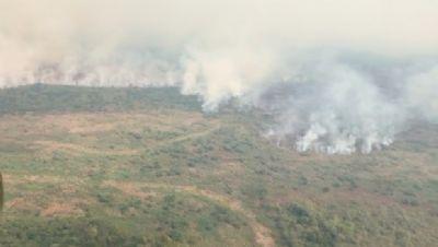 Incêndio no Pantanal já atinge 40 mil hectares e aparece nos satélites da Nasa