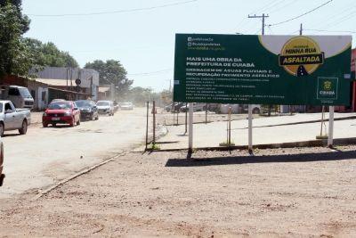 Prefeitura inicia recuperação da Avenida Coxipó Mirim, no Dr. Fábio I
