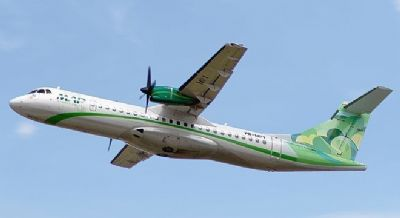 Avião com 43 pessoas fez pouso