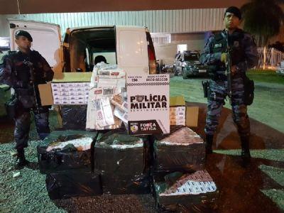 Homem é preso com 17,9 mil carteiras de cigarros em Cuiabá