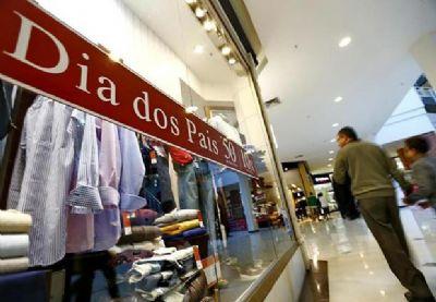 Lojistas estimam crescimento de 4% nas vendas para o dia dos pais