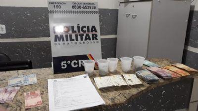 PM prende foragido de Goiás com mais de 10 notas falsas