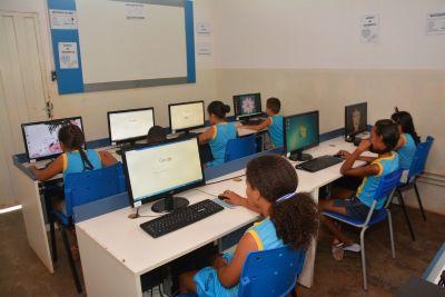 Escola da rede municipal de Cuiabá recebe benefícios do Projeto Educonexão