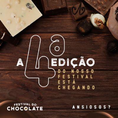Próxima edição do Festival do Chocolate ocorre em julho