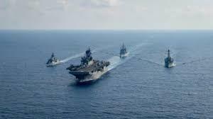 China pede que EUA contenham suas forças em mares próximos
