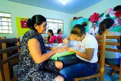 Moradoras do Jardim Araçá são preparadas para o mercado de trabalho
