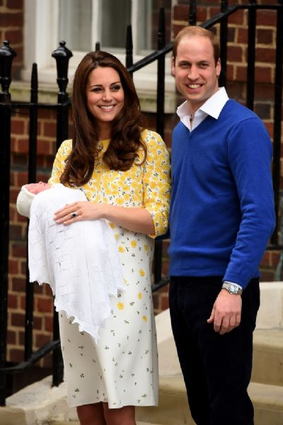 Nasce o terceiro filho de Kate Middleton e príncipe William