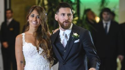 Lionel Messi será papai pela terceira vez
