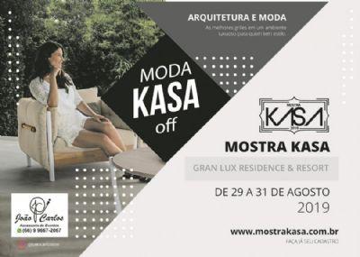 """Com entrada solidária, evento de arquitetura de luxo contará com espaço """"Mostra Kasa"""""""