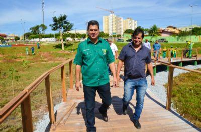 Parque da Nascente será inaugurado nesta quinta-feira (16)