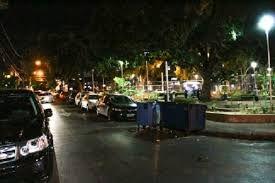Dupla é detida após recusar pagar conta na Praça Popular