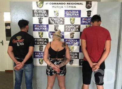 Segurança de boate é preso com arma e rádio clandestino